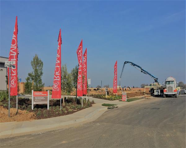 THE TRUE LIFE COMPANIES SELLS THE FIRST 129 OF 460 HOME SITES TO HOME BUILDERS K. HOVNANIAN AND RICHMOND AMERICAN IN ELK GROVE, CA